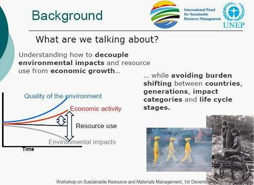 What UNEP is talking about....